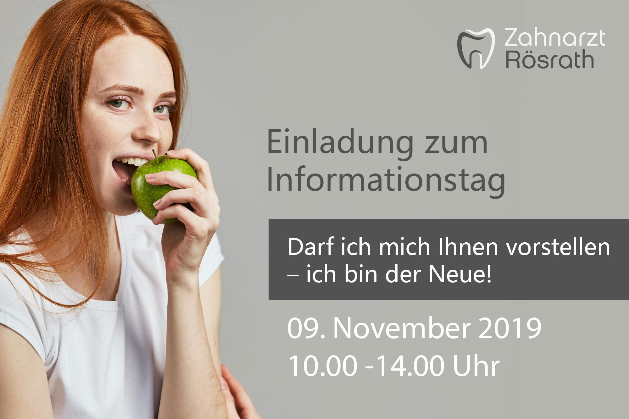 Einladung zum Informationstag November 2019